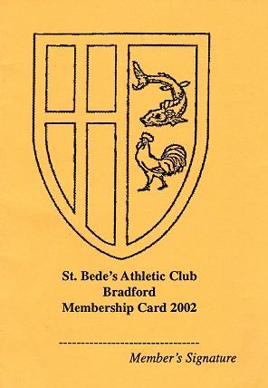 Club membership card 2002